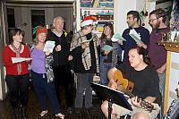 Singing Christmas Carols.2748