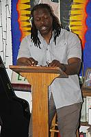 "On July 17, Pastor Cue, from the Church Without Walls on Skid Row, talked about ""decolonising"" the gospel.6486"