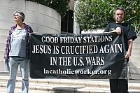 2015 GOOD FRIDAY ANTI-WAR STATIONS OF THE CROSS