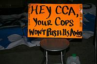 LACW JOINS LA CAN AND OCCUPY LA AT CCA PROTEST
