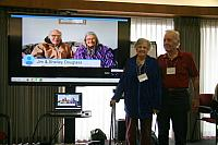 Original founders of PLC first version (1974): Jim & Shelley Douglass (on screen) Janet & Bob Aldridge.